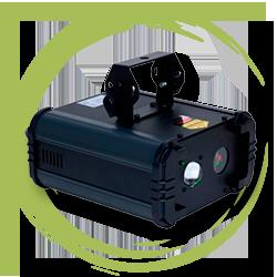 Лазер, создающий атмосферные эффекты